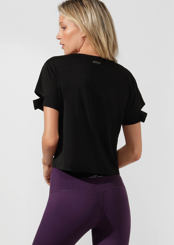 T-shirt de fitness Agility Cropped Active