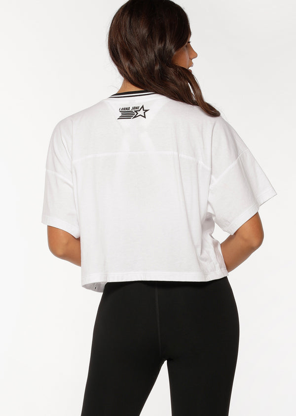 T-shirt de sport Half Time Cropped