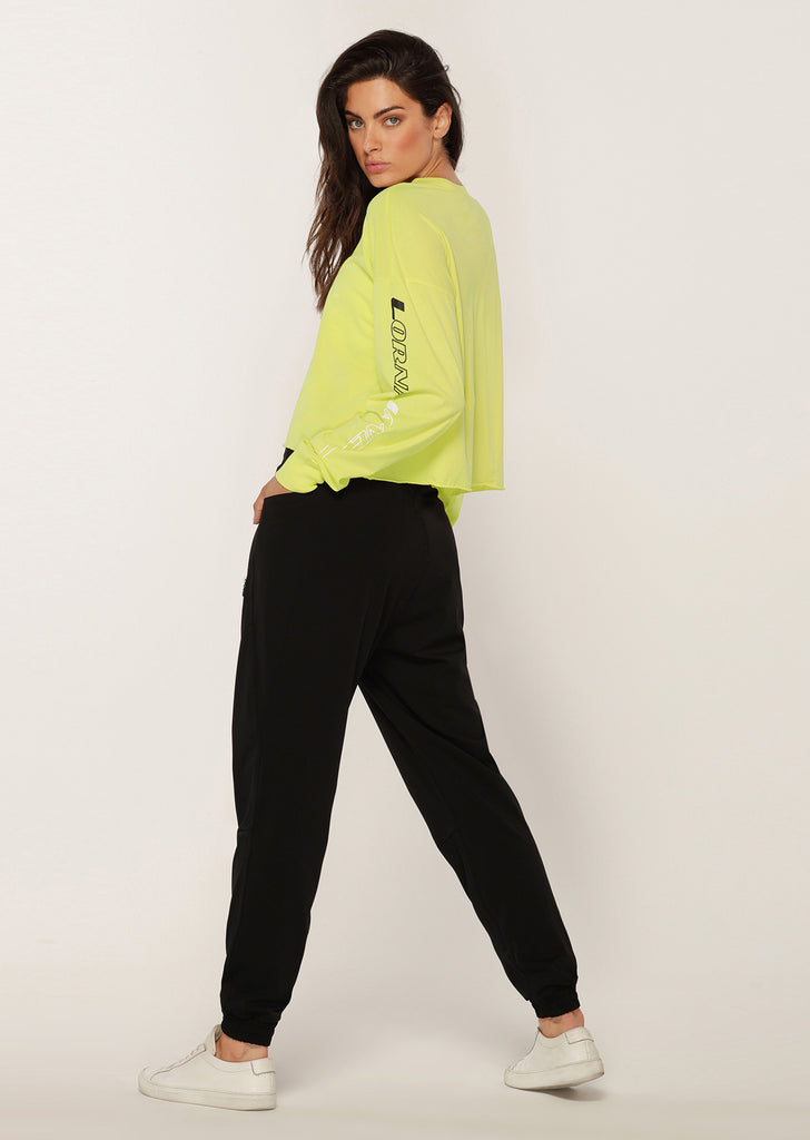 Top manches longues Layer-Up Cropped