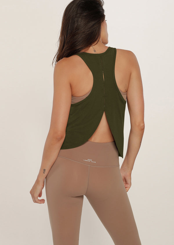 Débardeur de yoga Free Flow Open Back Active