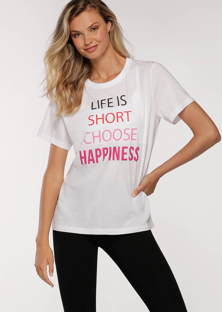 T-shirt de sport Choose Happiness