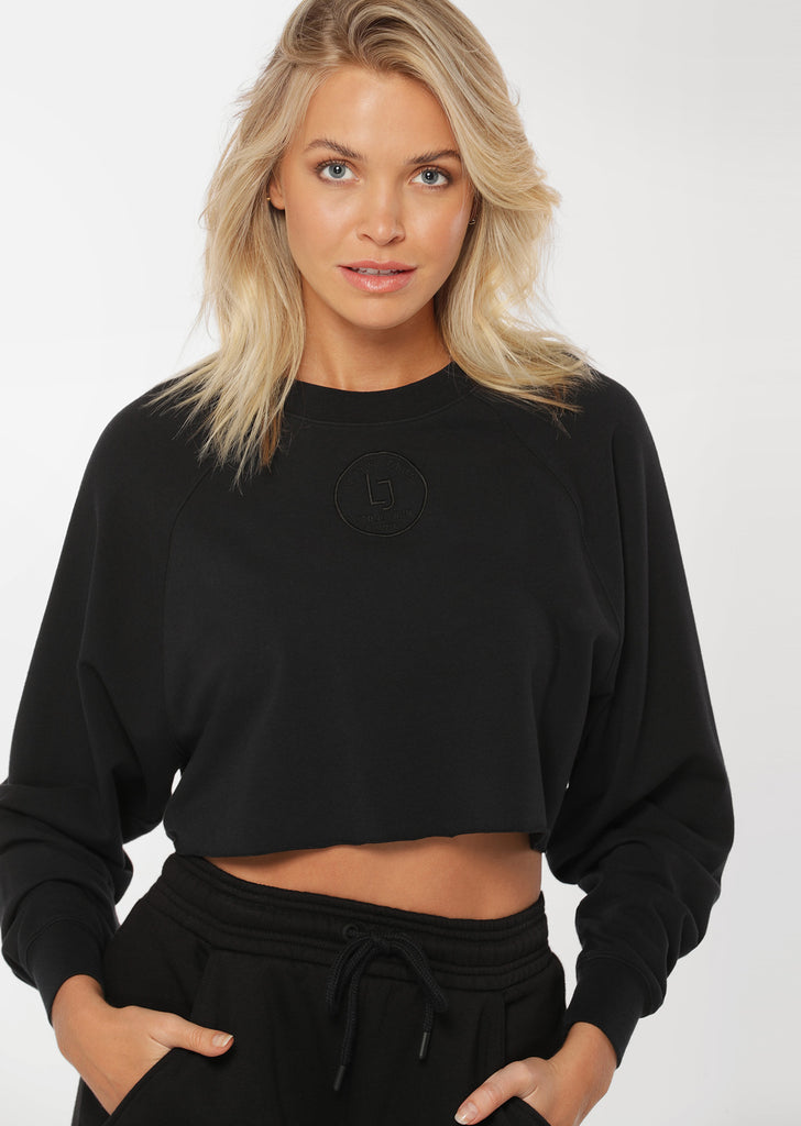 Sweat Cool Girl Cropped L/Slv