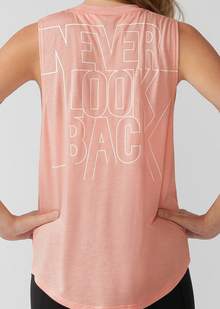 Débardeur de sport Never Look Back Muscle