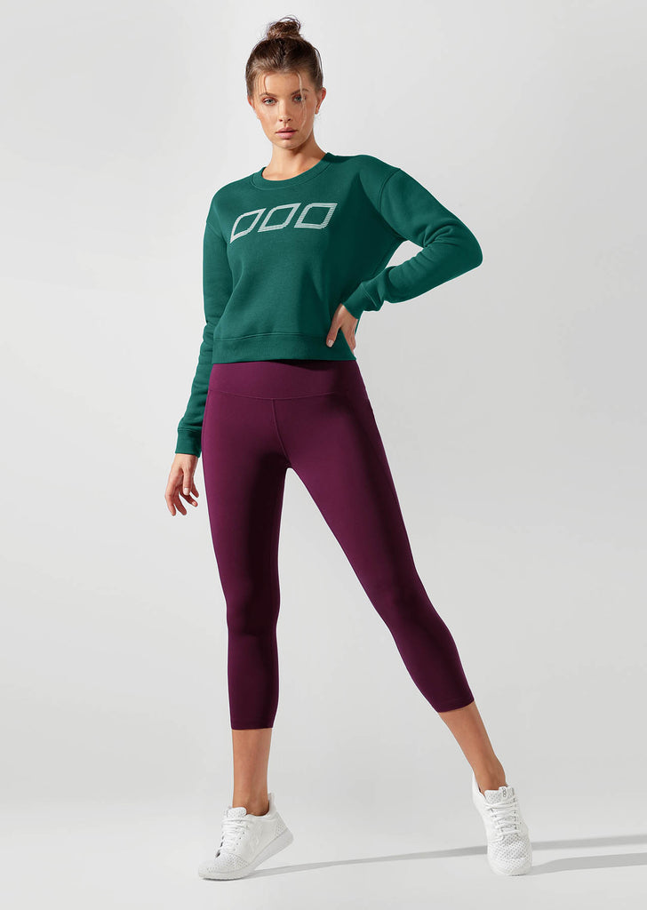 Sweat de sport Iconic Cropped