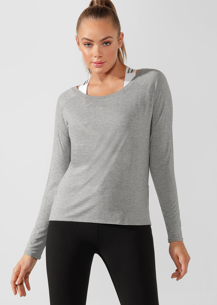 Top manches longues LJ Open Back Active