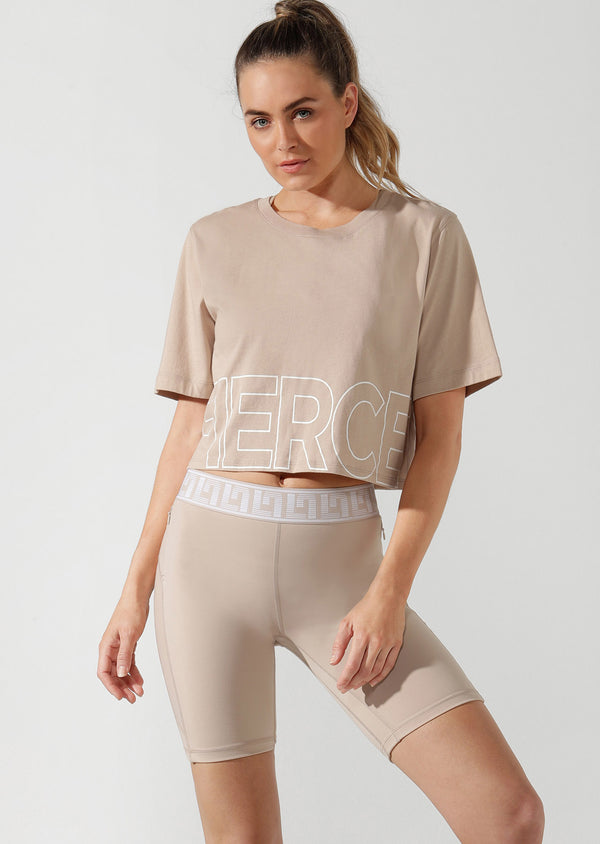 T-Shirt Fierce Cropped