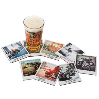 H-D™ Snapshot Coaster Set