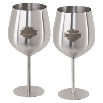 Stainless Steel Wine Glass Set