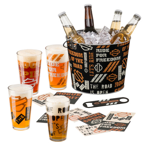 H-D Let's Ride Party Bucket Set