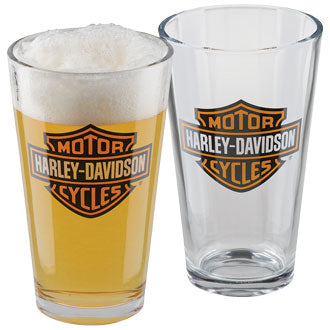 Core Bar & Shield Pint Glass Set