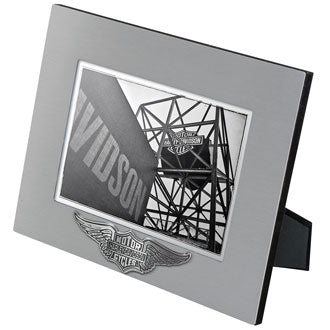 H-D™ Core Winged B&S Picture Frame 5x7