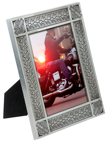 Tire Tread Picture Frame