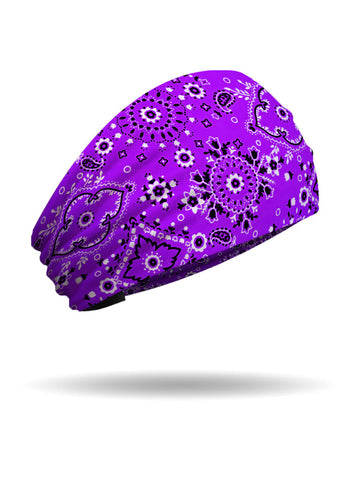 Purple Classic Bandana Knotty Band™ Collection