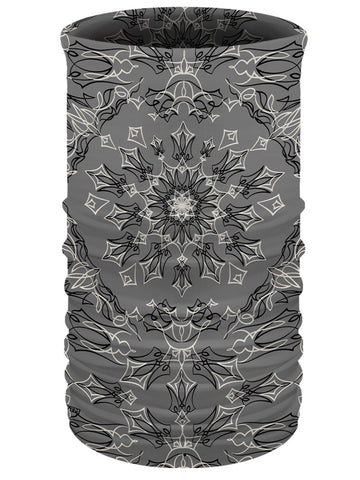 Grey Multi-Function-Tube-Pinstripe Bandana