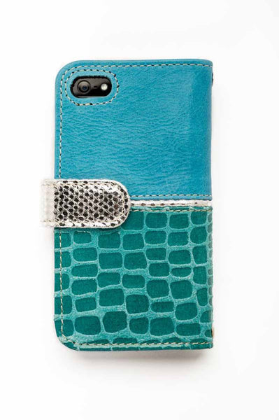 9396b5915b5b Stylish Turquoise iPhone 6 s Leather Case – IT Covers