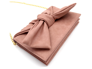Knotted Bow Clutch