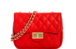 Chanel Inspired Quilted Crossbody