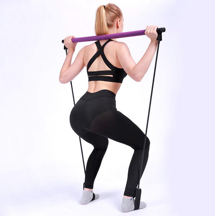 Booty Flex Ultimate Home Workout & Portable Pilates Bar