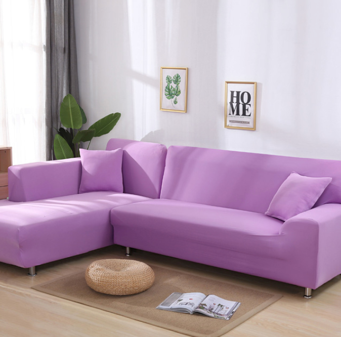 IB Elastic Sofa Cover,Premium All-Season, Moisture and Stain-Resistant