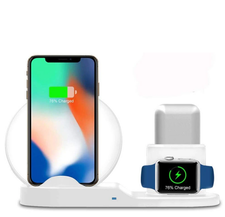 Volt Charge Pro- 3 in 1 Wireless Charging Dock
