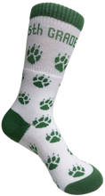 Load image into Gallery viewer, Mt. Tabor 5th Grade Paw Socks