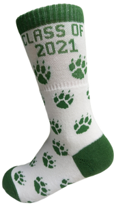 Mt. Tabor 5th Grade Paw Socks
