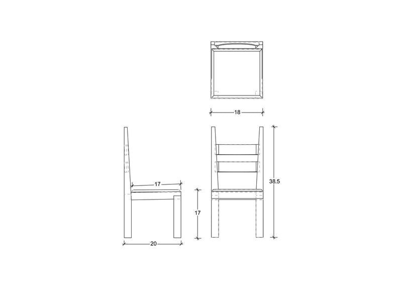 DC1 Dining Chair Dining chair sentientfurniture