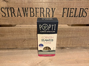 Popti Cornish Seaweed Savoury Thins