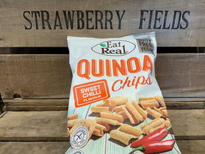Eat Real Quinoa Chips Sweet Chilli