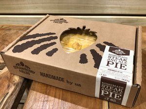 Homemade Steak & Ale Pie