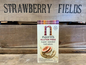 Nairn's Gluten Free Super Seeded Oatcakes