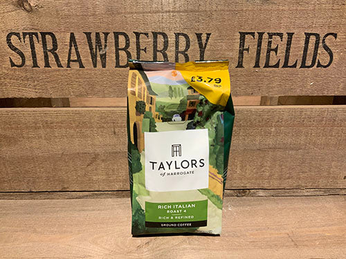 Taylor's Rich Italian Ground Coffee
