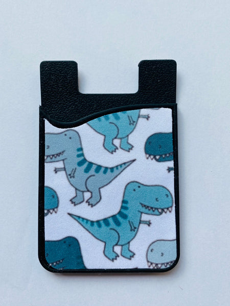 dinosaur card holder iphone