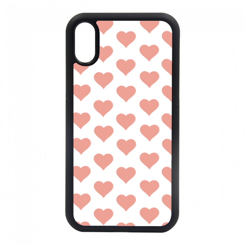 Pink hearts case
