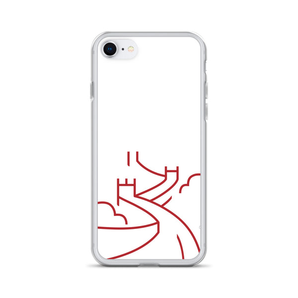 Great Wall White iPhone Case