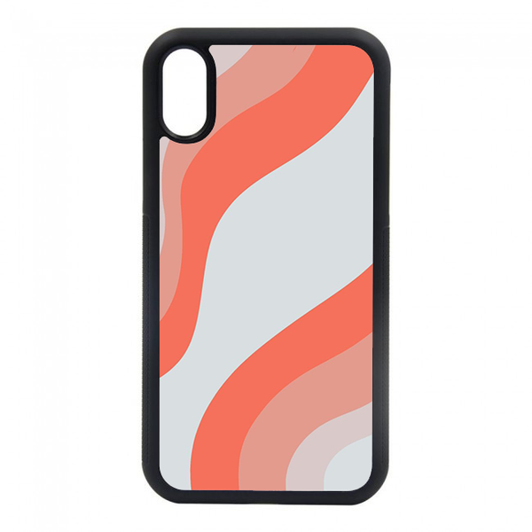 orange curvy phone case for iphone 6, iphone 7, iphone 8, iphone plus, iphone max, iphone x, iphone xs, iphone 11, iphone pro