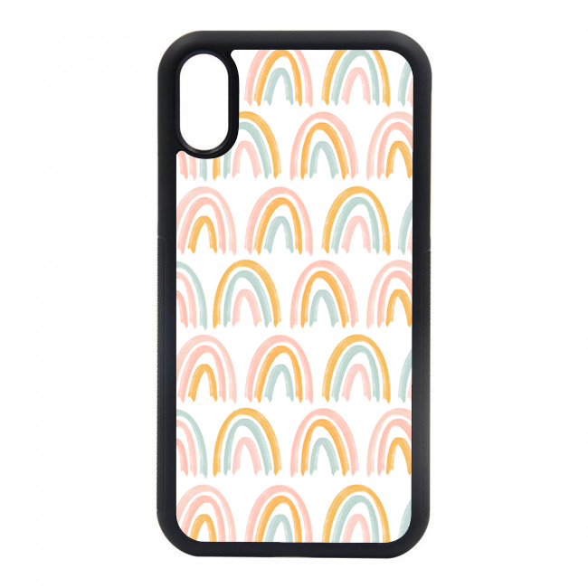 rainbow phone case. we have phone cases for most of your iphones. iphone 6, iphone 6s, iphone 7 8, iphone 7 8 plus, iphone SE, iphone xs, iphone x, iphone xr, iphone xs max, iphone 11, iphone 11 pro, iphone 11 pro max.