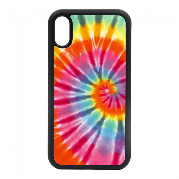 red yellow, orange, blue tie dye  phone case. we have phone cases for most of your iphones. iphone 6, iphone 6s, iphone 7 8, iphone 7 8 plus, iphone SE, iphone xs, iphone x, iphone xr, iphone xs max, iphone 11, iphone 11 pro, iphone 11 pro max.