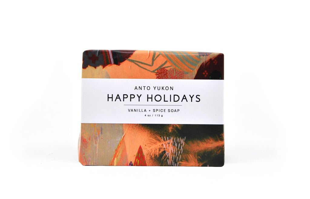 Happy Holidays Soap