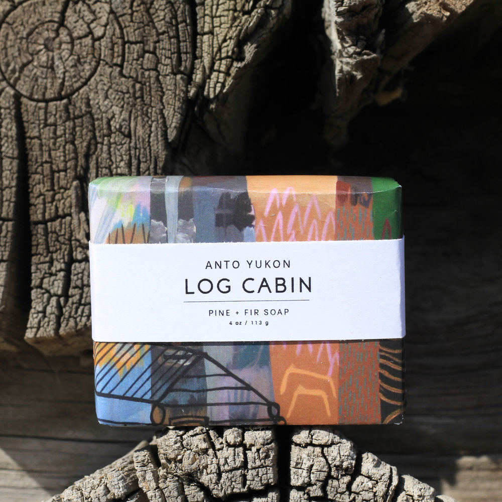 Log Cabin Soap