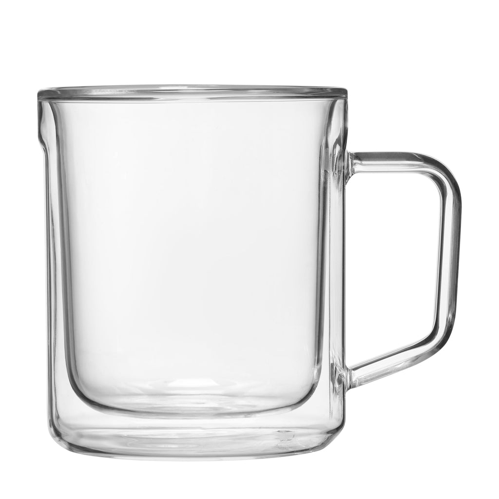 CORKCICLE GLASS MUG 12OZ TWO PACK CLEAR - Arth's Fashion Centre - {{ shop.address.country }}