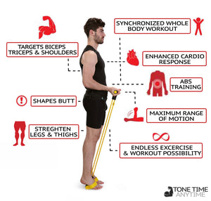 Multi Function Resistance Band - Full Body Workout