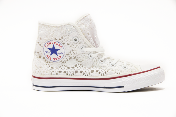 Converse All Star Alta Ricamo 549310C White