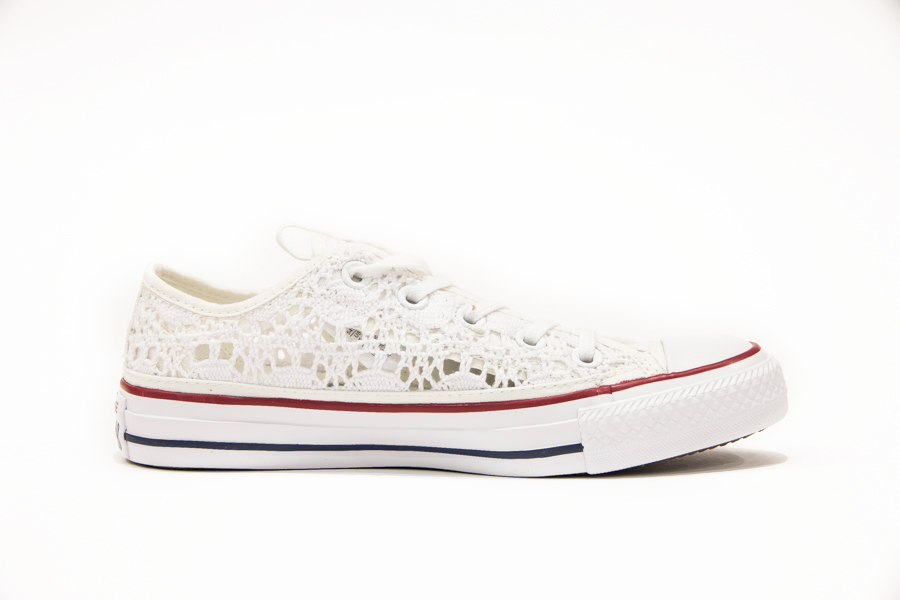 Converse All Star Bassa Ricamo 593314C White