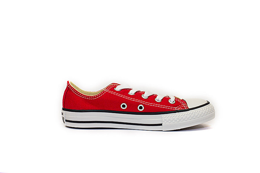 CONVERSE ALL STAR OX JUNIOR 3J236 colore rosso