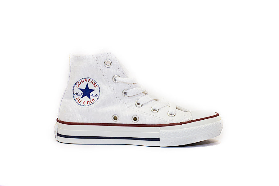 CONVERSE ALL STAR HI JUNIOR 3J253 colore bianco