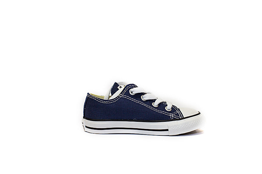 CONVERSE ALL STAR OX  JUNIOR 7J237 colore blu