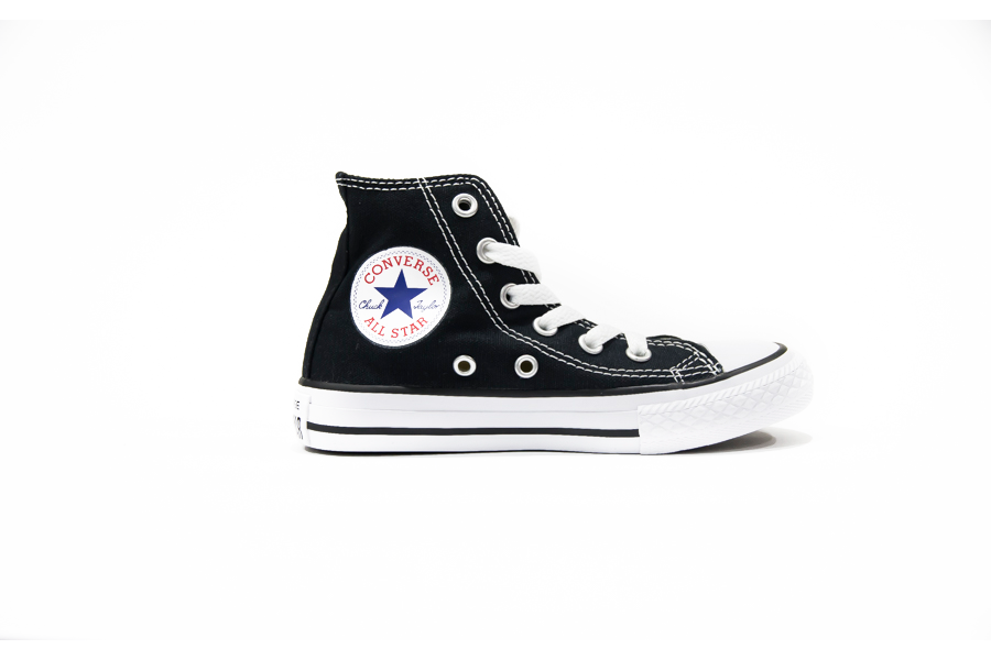 Converse All Star HI 3J231C Alta Junior Nero
