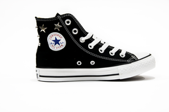 Converse CTAS HI Canvas Limited Edition 156913C alta nera