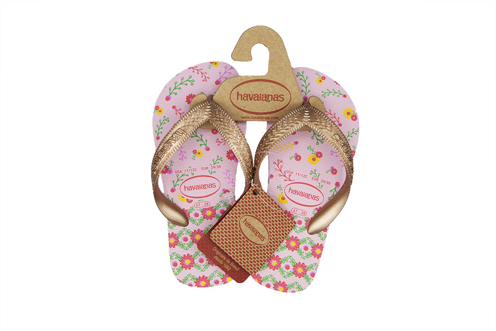Havaianas Kids Flores 4000052-7667 Rose Gold